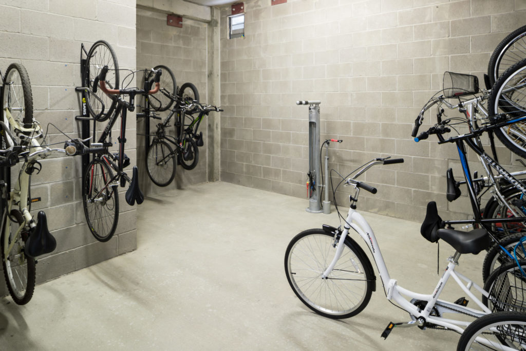 Alexan Summit bike repair station and storage