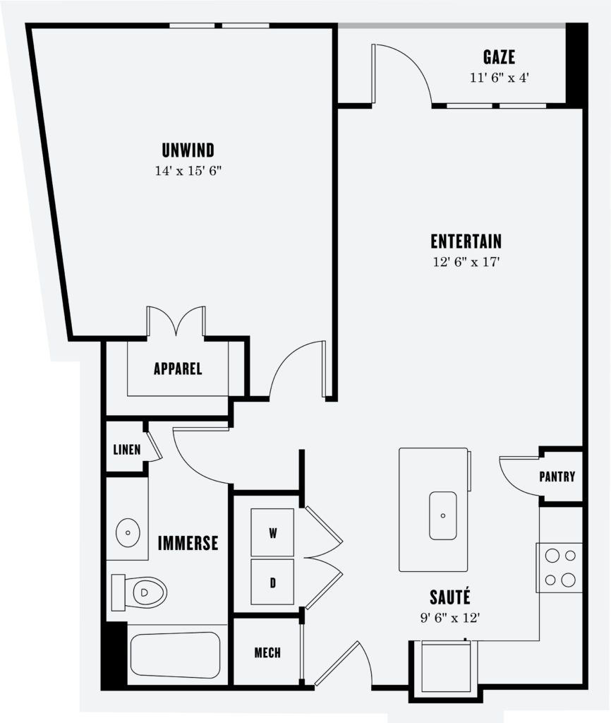 Reach for More - a3a one bed/one bath