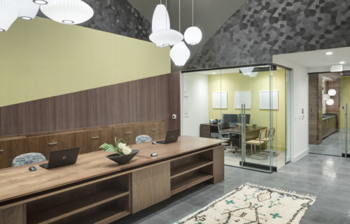 CoWork area at Alexan Summit - Imagine Your Perfect Weekend